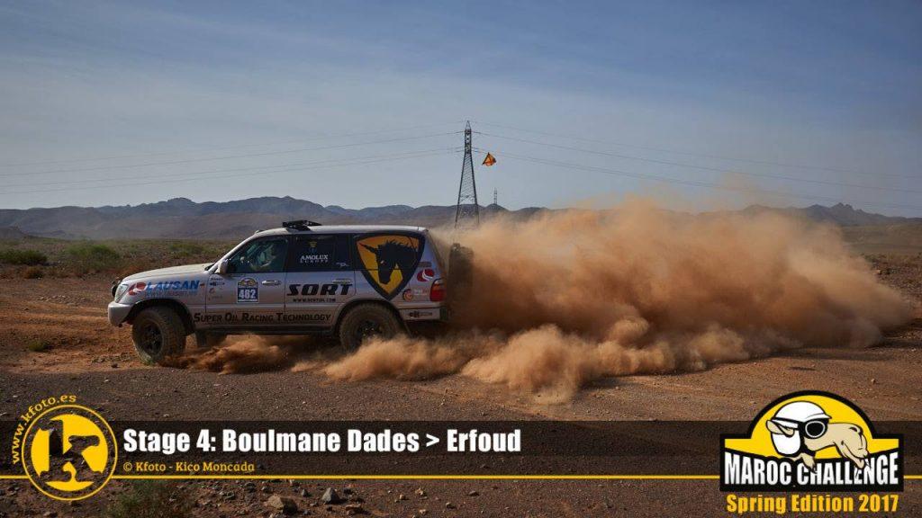 Sort Adventure Team en el desierto