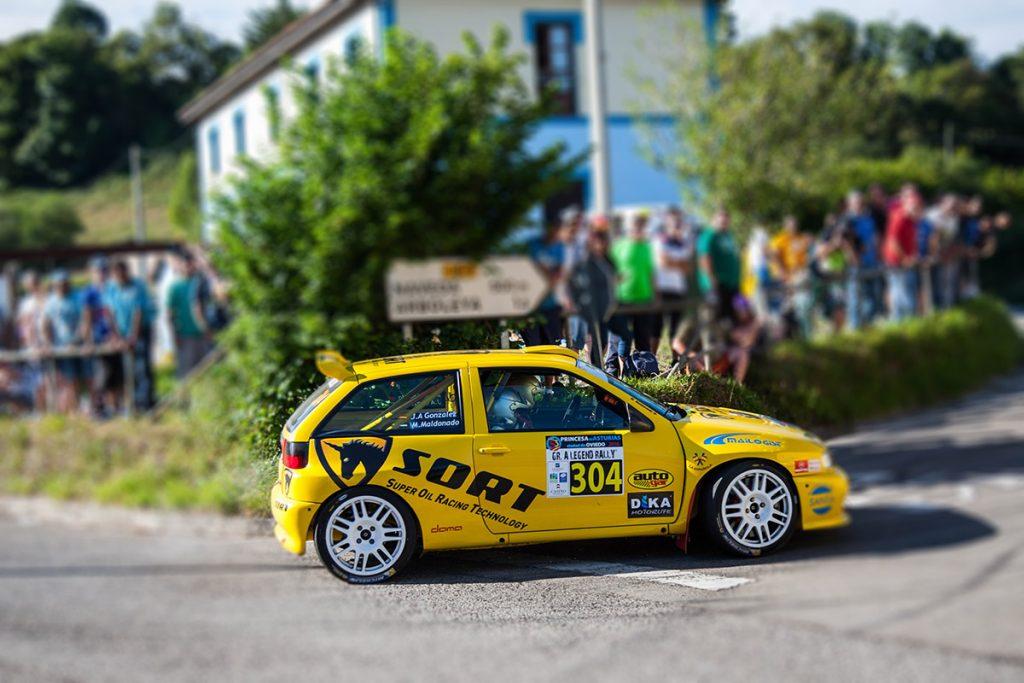 Ibiza Kit Car en el Gr.A Legend Rally