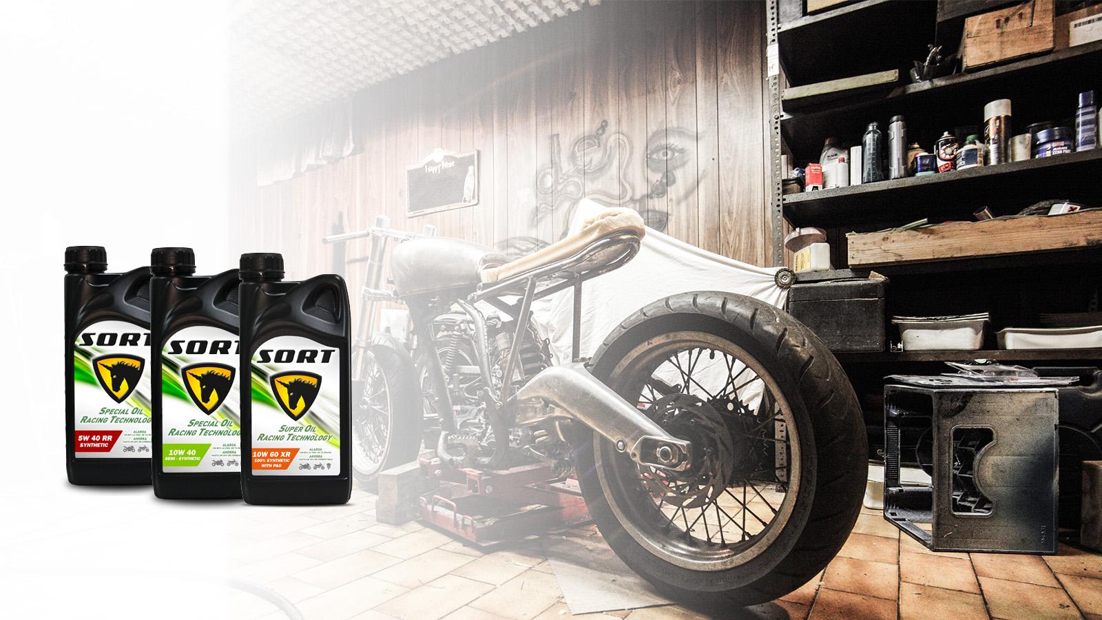 For motorcycle craftsmen
