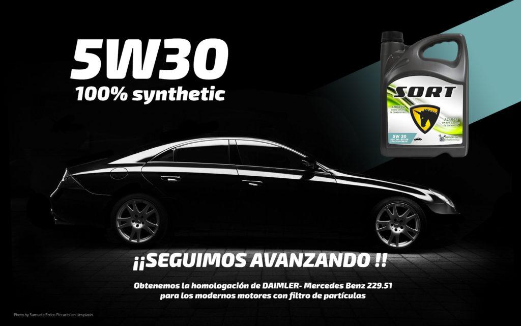 Homologación Mercedes Benz para el 5W30 C3