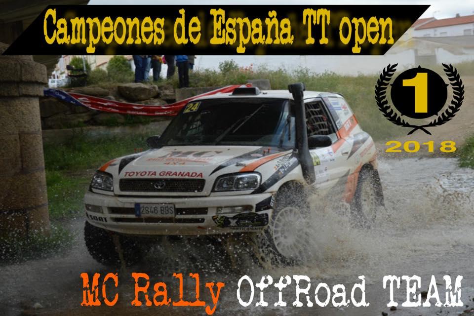 Campeones de España Open TT con SORT